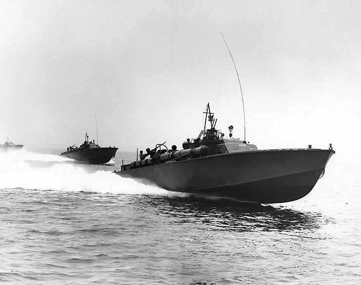 アメリカ海軍高速魚雷艇(PTボート)