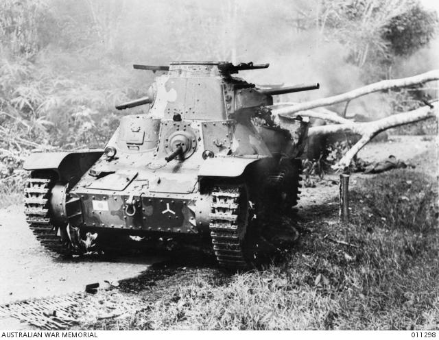 マレー半島における日本陸軍の九五式軽戦車