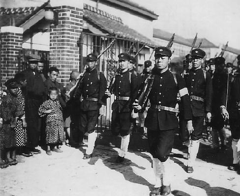大阪高等商業学校の軍事教練