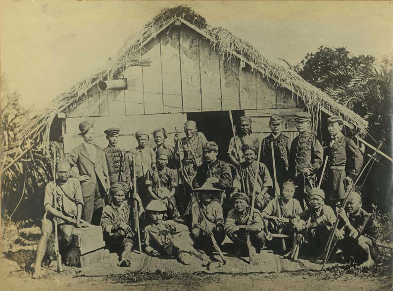 台湾出兵時の日本兵