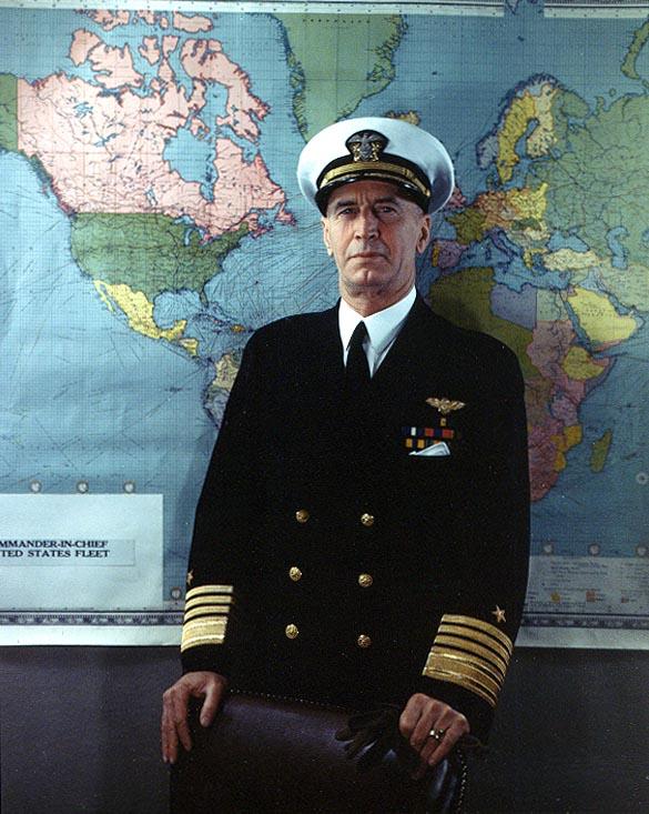 アーネスト・キング合衆国艦隊司令長官